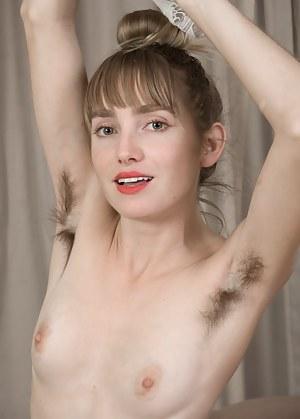 hairy nude model