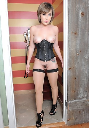 Excited Classic porn sexy girls in corsets