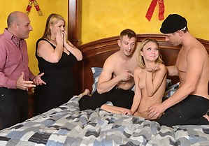 Rough gang bang blog