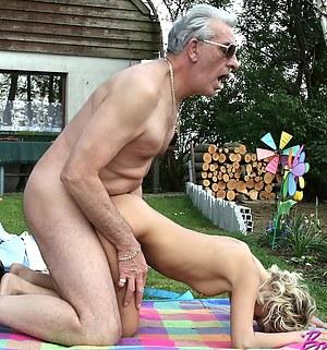 Granpa nackt old grandpa naked